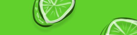 Whiteboard Glas Limone grün